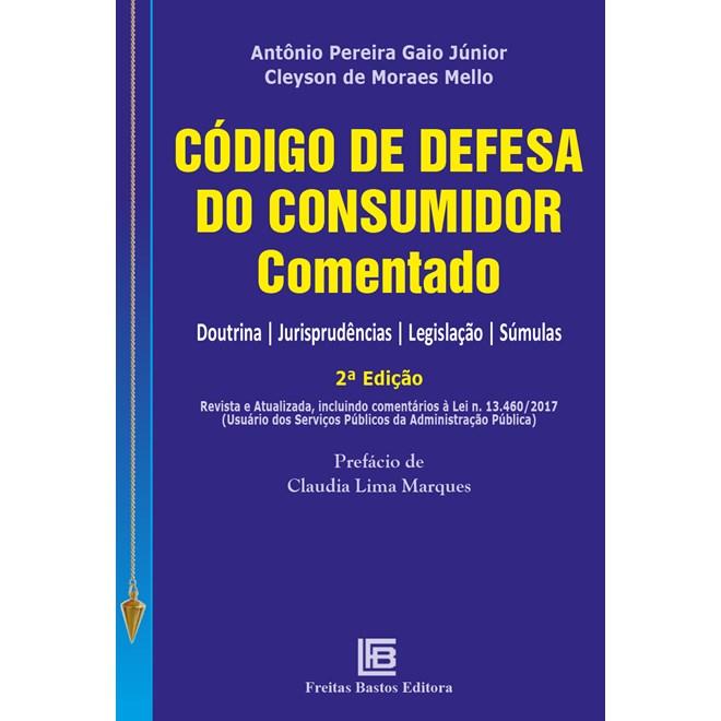 Livro - Código de Defesa do Consumidor Comentado - Bastos