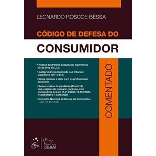 Livro Código de Defesa do Consumidor Comentado - Bessa - Forense