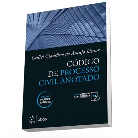 Livro - Código de Processo Civil Anotado com Dicas de Prática Jurídica - Araújo Junior 1ª edição