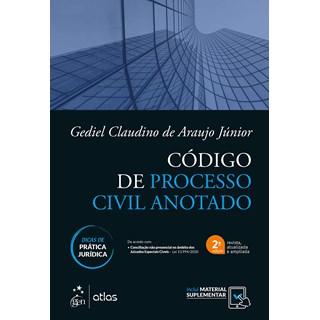 Livro Código de Processo Civil Anotado com Dicas de Prática Jurídica - Junior - Atlas