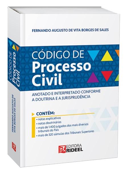 Livro - Código de Processo Civil Anotado e Interpretado Conforme a Doutrina e a Jurisprudência - Sales