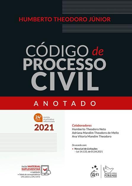 Livro - Código de Processo Civil - Anotado - Theodoro Jr.