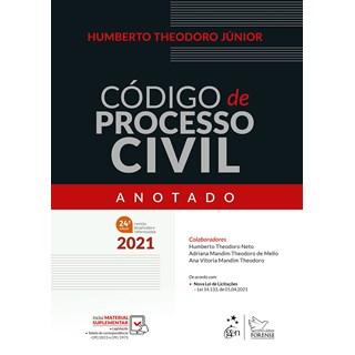 Livro - Código de Processo Civil Anotado - Theodoro Jr. - Forense