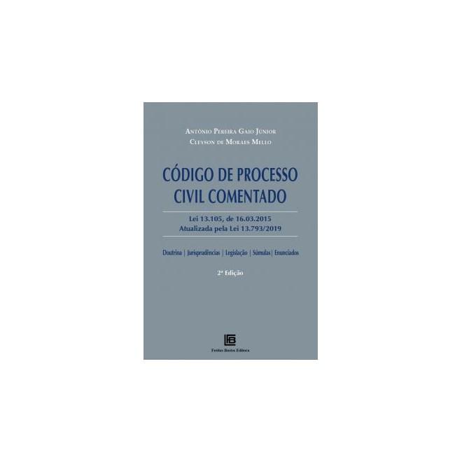Livro - Código de Processo Civil Comentado - Gaio Junior