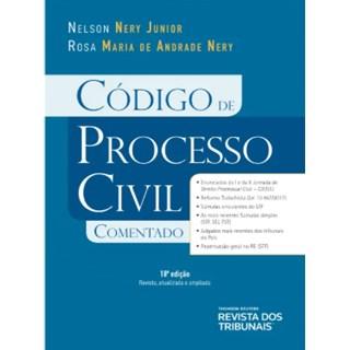 Livro - Código de Processo Civil Comentado - Nery
