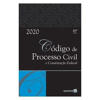 Livro - Código de Processo Civil e Constituição Federal - Tradicional - Editora Saraiva 25º edição