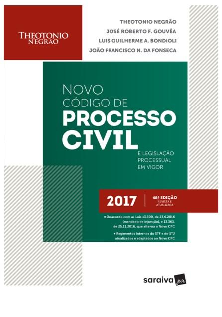 Livro - Código de Processo Civil e Legislação Processual Em Vigor - Negrão