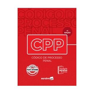 Livro - Código de Processo Penal – 4.ª Edição - 2020 - EDITORA SARAIVA 4º edição