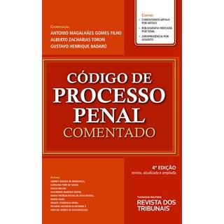 Livro Código de Processo Penal Comentado - Filho - Revista dos Tribunais