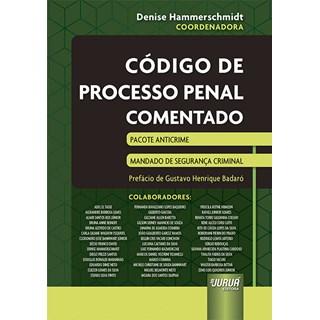 Livro - Código de Processo Penal Comentado - Hammerschmidt - Juruá