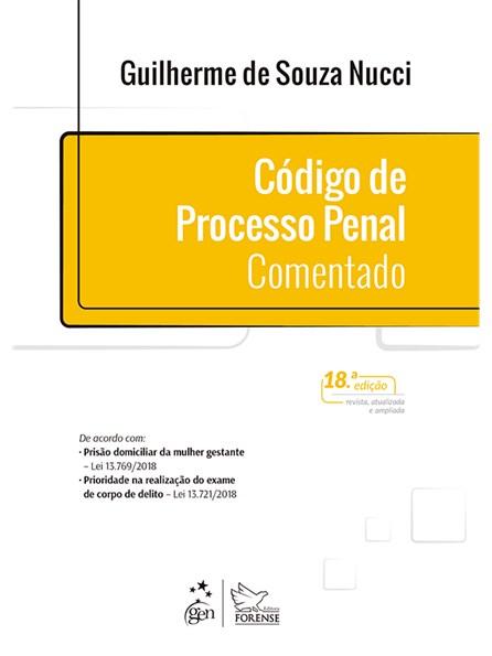 Livro - Código de Processo Penal Comentado - Nucci