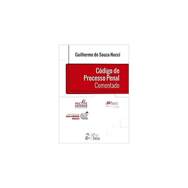 Livro Código de Processo Penal Comentado - Nucci - Forense