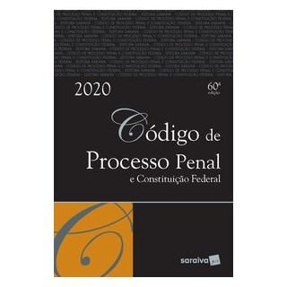 Livro - Código de Processo Penal e Constituição Federal - Editora Saraiva 60º edição