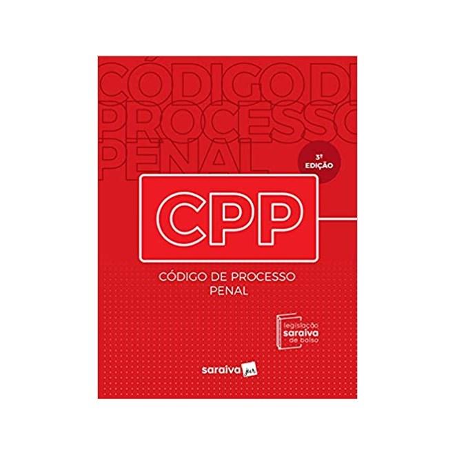 Livro - Código De Processo Penal - Legislação Saraiva De Bolso