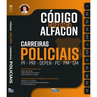 Livro Código Interativo Alfacon: Carreiras Policiais - Alfacon