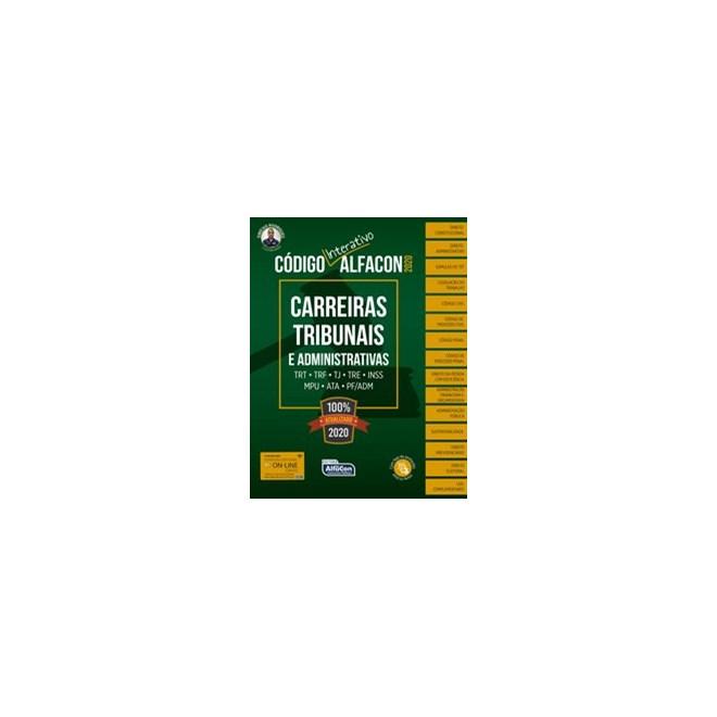 Livro - Código Interativo Carreiras Tribunais e Administrativas 2020 - / Vinícius Rodrigues 1º ediçã