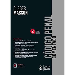 Livro - Código Penal Comentado - CLEBER MASSON 8º edição