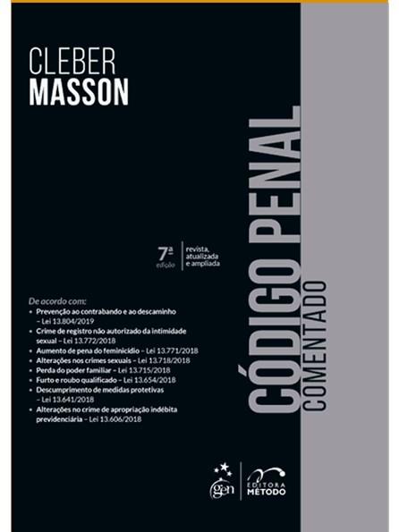 Livro - Código Penal Comentado - Masson