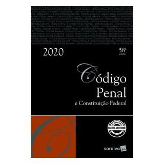 Livro - Código Penal e Constituição Federal - Tradicional - Editora Saraiva 58º edição