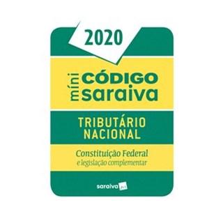 Livro - Código Tributário Mini - 26ª edição de 2020 - Editora Saraiva 26º edição