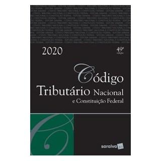 Livro - Código Tributário Nacional E Constituição Federal - Tradicional - Editora Saraiva 49º edição
