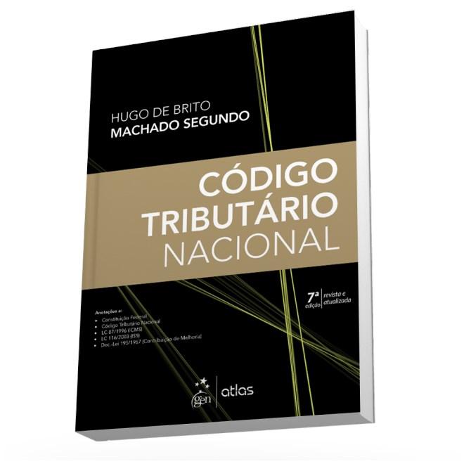 Livro - Código Tributário Nacional - Machado Segundo