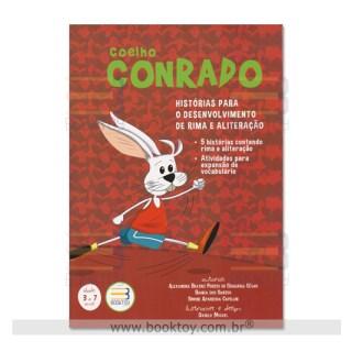 Livro - Coelho Conrado - Histórias Para o Desenvolvimento de Rima e Aliteração - Cesar