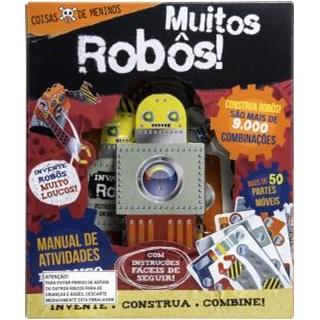 Livro - Coisa de Menino - Muitos Robôs - Books