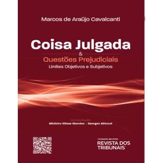 Livro - Coisa Julgada & Questões Prejudiciais - Cavalcantti