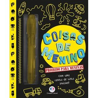 Livro - Coisas de menino - Proibido para meninas - Com uma caneta de tinta invisível