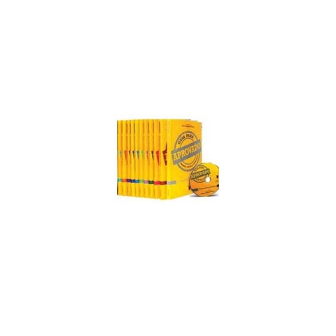 Livro - Coleção Aprovado + CD Simulado Eletrônico (10 volumes para concursos)