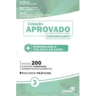 Livro Coleção Aprovado em Enfermagem: Epidemiologia e Vigilância em Saúde - Silva