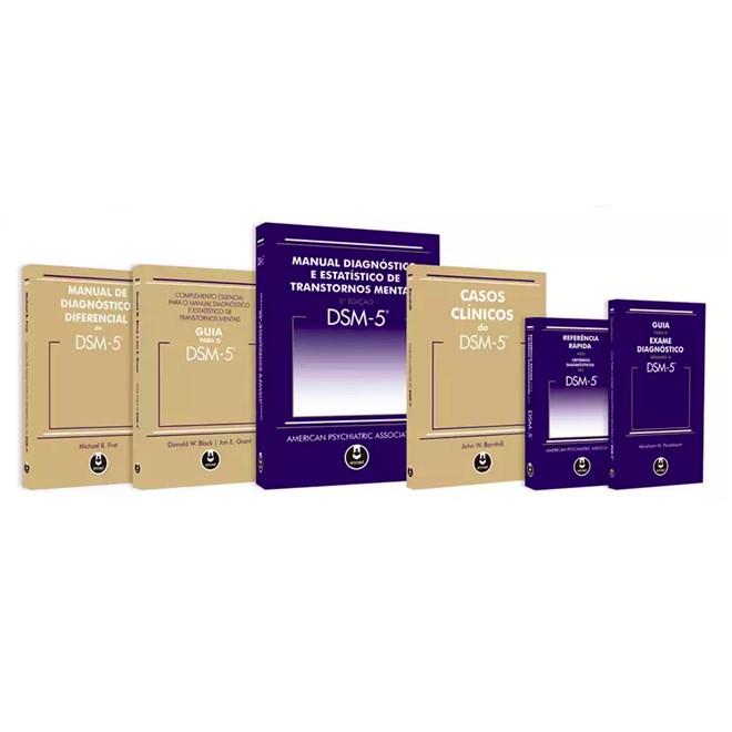 Livro - Coleção Completa DSM-5 Combo 6 volumes