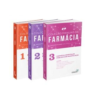 Livro - Coleção Manuais da Farmácia para Concursos e Residências (Volumes 1,2 & 3) - Combo