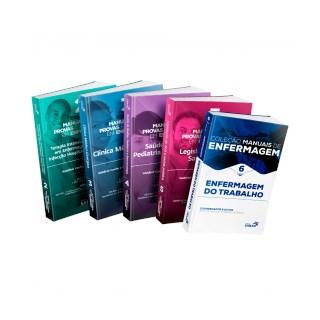 Livro - Coleção Manuais de Enfermagem para Concursos e Residências (Volumes 2, 3, 4, 5 & 6) - Combo