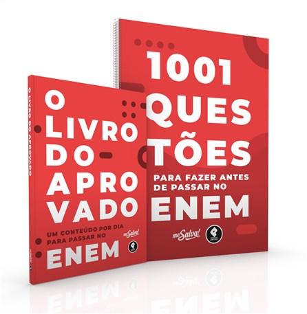 Livro - Coleção Me Salva - 1001 Questões Para Fazer Antes de Passar no ENEM - Ortiz