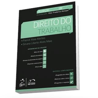 Livro - Coleção Método De Estudo - Direito Do Trabalho - Merísio