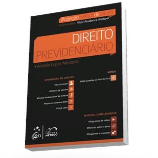 Livro - Coleção Método De Estudo - Direito Previdenciário - Monteiro