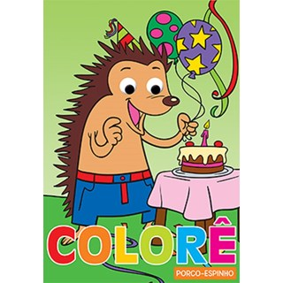 Livro - Colore Porco-Espinho - Libris