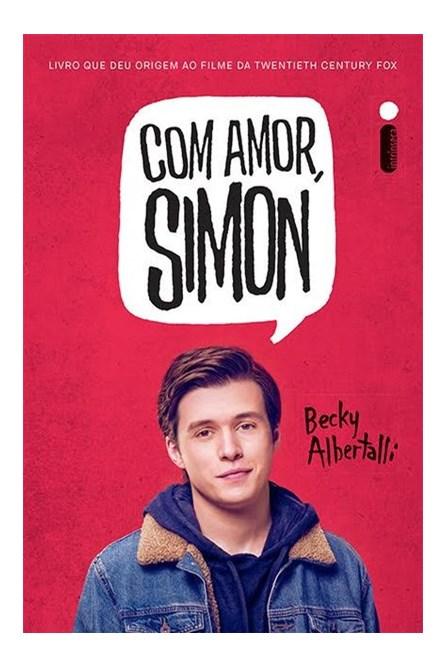 Livro - Com amor, Simon - Albertalli