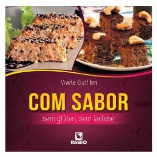 Livro - Com Sabor - Sem Glúten, Sem Lactose - Gutfilen