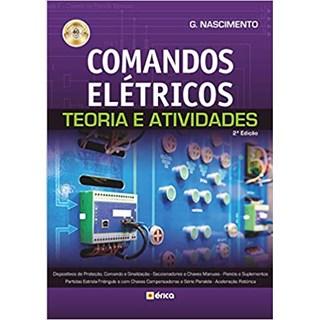 Livro - Comandos Elétricos - Teoria e Atividades - Nascimento