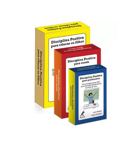 Livro - Combo Baralhos Disciplina Positiva - Nelsen