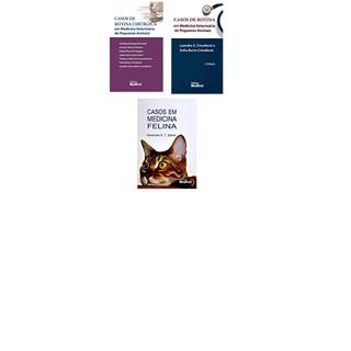 Livro - Combo Casos de Rotina + Medicina Felina