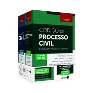 Livro - Combo - Código Civil + Código De Processo Civil + Cinta - 12ª Edição 2020 - Negrao 12º ediçã