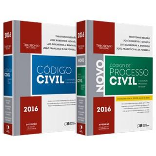 Livro - Combo Código Civil em Vigor + Código de Processo Civil e Legislação Processual em Vigor - Negrão