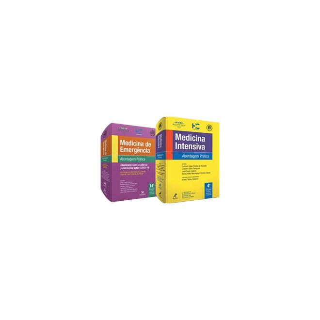 Livro - Combo USP 2020 Medicina de Emergência e Medicina Intensiva - FMUSP - Manole