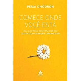Livro - Comece Onde Você Está - Chödrön - Sextante