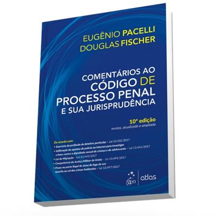 Livro - Comentário ao Código de Processo Penal e sua Jurisprudência - Pacelli