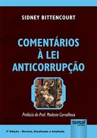 Livro Comentarios a Lei Anticorrupcao Bittencourt